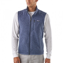 Gilet Better Sweater blu...