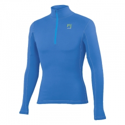 Croda Light 1/2 zip blu uomo