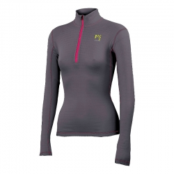 Croda Light 1/2 zip grigio...