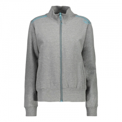 Felpa stretch full zip...