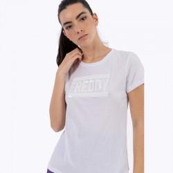 T-Shirt logo paillettes...