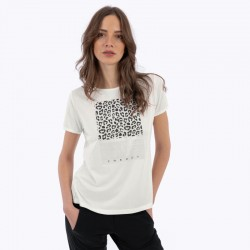 T-Shirt stampa white donna