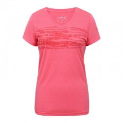 T-shirt Bassfield rosa donna