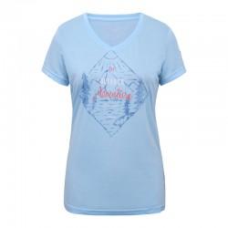 T-shirt Bassfield azzurro...