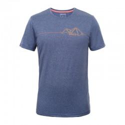 T-shirt Bancroft blu uomo