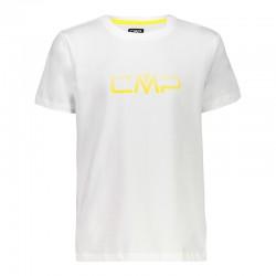 T-shirt logo bianco boy