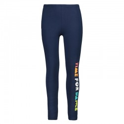Leggings stretch blue girl