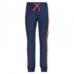 Pantalone con polsino blue...