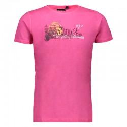 T-shirt jersey bouganville...