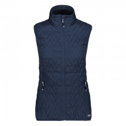 Gilet 3M Thinsulate blue donna