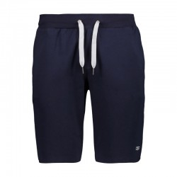Bermuda felpa stretch navy...