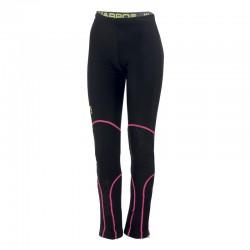 Pantaloni Alagna black/pink...