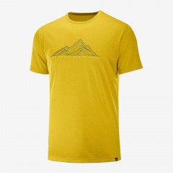 Agile Graphic Tee lemon...