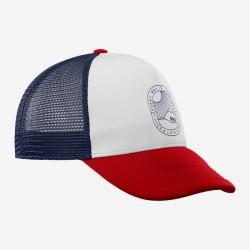 Summer logo cap white/goji...
