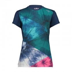 T-shirt Unlimitech blue donna