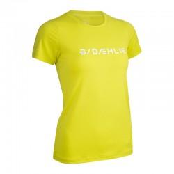 T-Shirt Focus gialla donna