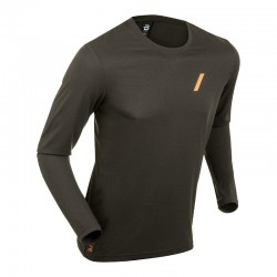 Long Sleeve Flash nera uomo