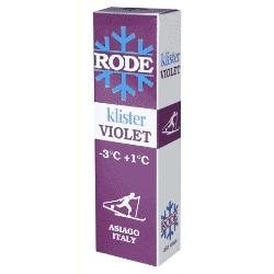 Rode Klister Violet (-3°/+1°)