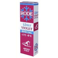 Rode Klister Violet Special (-1°/-5°)