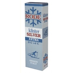 Rode Klister Silver Extra (0°/+4°)
