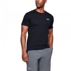 T-Shirt UA Streaker black uomo