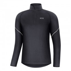 Mid Long Sleeve Zip Shirt...