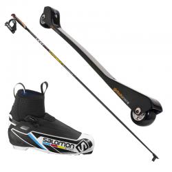 Classic: skiroll carbonio +...