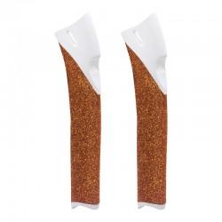Handle white/cork urethan...