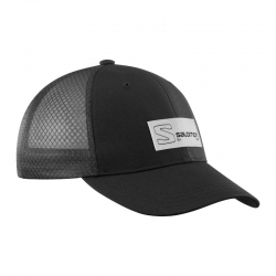 Trucker Curved Cap black