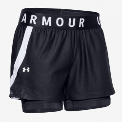 Play Up 2-in-1 Shorts black...