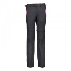 Pantaloni zip-off 05UG donna