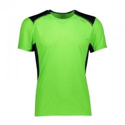 T-shirt running con inserti...