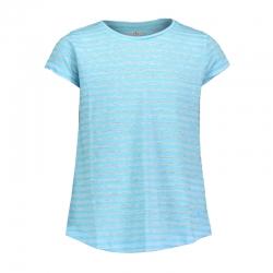 T-Shirt in tessuto burn out...