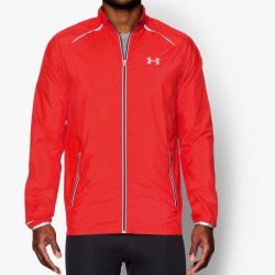 UA Launch Storm Run Jacket red