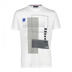 T-Shirt in cotone con...
