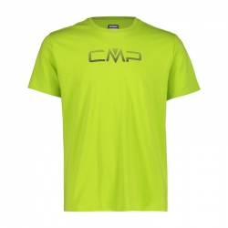 T-shirt stretch logo cotone...