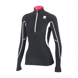 Cardio Tech top nero donna