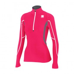 Cardio Tech top rosa donna