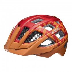 Casco Kailu arancio junior