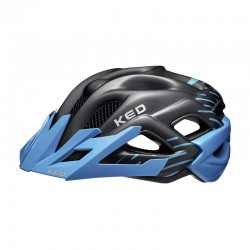 Casco Status nero/blu junior