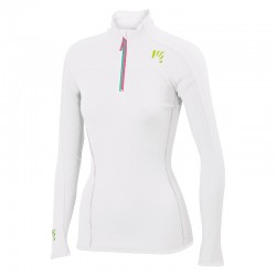 Verena Fleece bianco donna