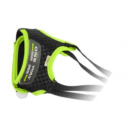 One Way lacciolo Rabbit carbon-yellow