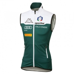 Gilet Team Italia antivento