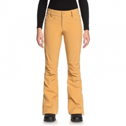 Pantaloni Creek gialli donna