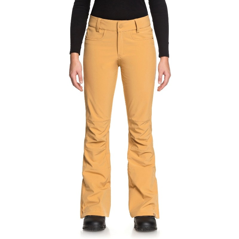 146c8a1fd64f Pantaloni da snowboard Roxy Creek gialli donna